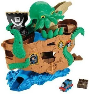 Fisher-Price Thomas & Friends Adventures Sea Monster Pirate Playset