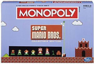 Monopoly Super Mario Bros. Collector's Edition Game