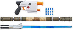 Star Wars Weapon PackNERF Star Wars Bladebuilders Rey Starkiller Base Mission Pack