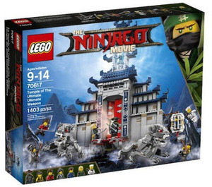 The LEGO Ninjago Movie Temple of the Ultimate Weapon