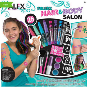 Alex Toys Spa Deluxe Hair and Body Salon Fashion Kit
