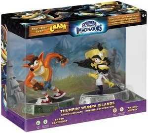 Skylanders Imaginators Thumpin' Wumpa Islands Adventure Pack