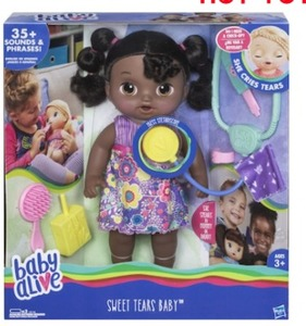 Baby Alive Sweet Tears Baby Doll Brunette