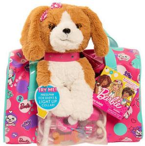 Barbie Brown and Puppy Dog Vet Bag Set