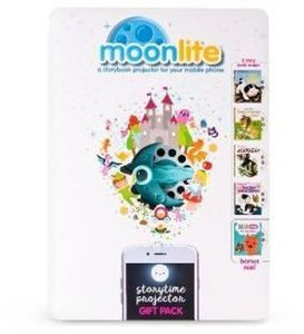Moonlite Gift Pack Storybook Projector for Smartphones