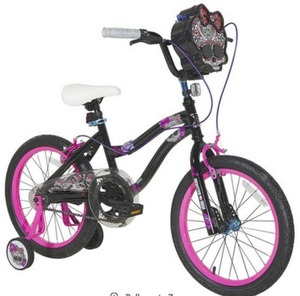 Girls 18 inch Dynacraft Monster High Bike