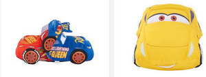 Disney Pixar Cars 3 Large Reversible Plush Racers