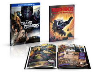 Transformers: The Last Knight Blu-Ray Combo Pack w/ Comic Book