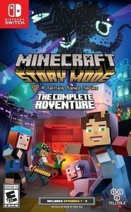 Minecraft: Story Mode A Telltale Game Series The Complete Adventure Nintendo Switch