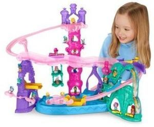Fisher-Price Shimmer and Shine Teenie Genies Magic Carpet Adventure Playset
