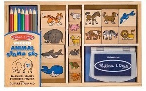 Melissa & Doug Stamp Set