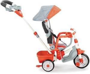 Little Tikes 4-in-1 Deluxe Ride & Relax Recliner Trike