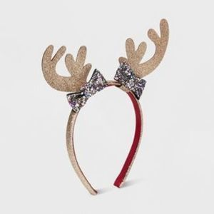 Cat & Jack Girls Reindeer Ears Headband