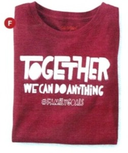 Together We Can Do Anything Graphic Tee