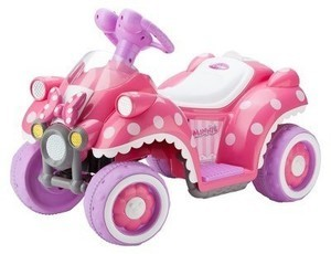Minnie Mouse 6V Electric Quad