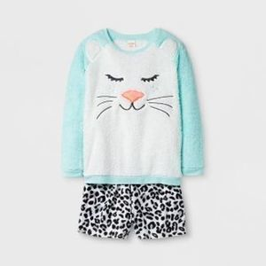 Girls' Pajama Set with Shorts