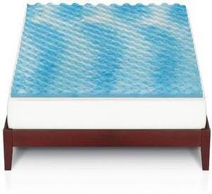 The Big One Gel Memory Foam Mattress Toppers All Sizes