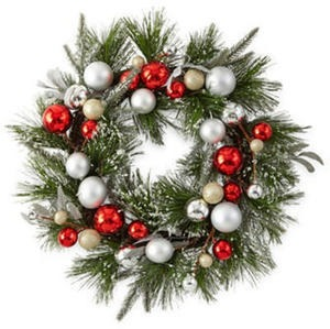 "North Pole 20"" Wreath"