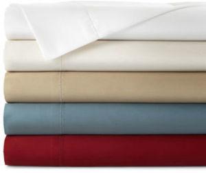 Royal Velvet 500TC Damask & Solid Wringle-Free Sheet Sets