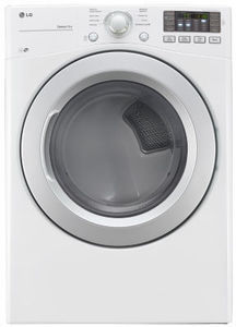 LG 7.4 Cu. Ft. Electronic Dryer DLE317OW After Rebate w/ Washer Purchase