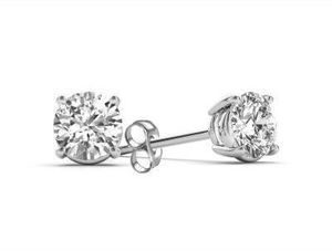 Classic 1/4 Ct. T.W. 14K Gold Stud Earrings