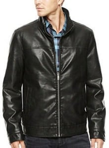 Dockers Men's Faux Leather Jacket