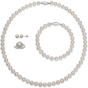 Near You 4-Pc. Boxed Set Cultured Feshwater Pearl