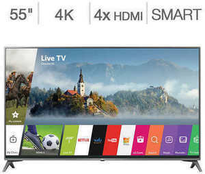 "LG 55"" 4K Ultra HD LED LCD TV"