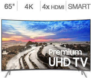 "Samsung 65"" Class Curved 4K Ultra HD LED TV"