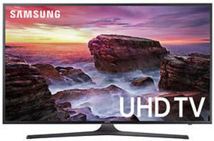 "Samsung UN49MU6290 49"" 4K UHD Smart TV"