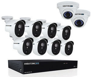 Night Owl Extreme 16-Channel 10-Camera 3MP Security System