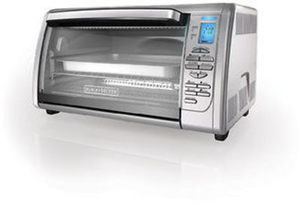 Black & Decker 6-Slice Extra-Large Capacity Digital Toaster Oven