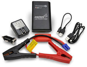 Royal 400-Amp Portable Jump Starter and Mobile Device Charger w/ Built-in Flashlight