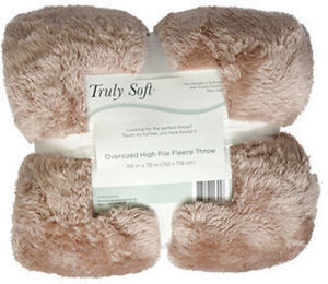 Truly Soft Fluffy Throw Blanket