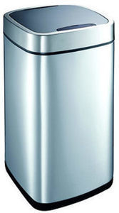 EKO Motion-Activated 40L Trash Can - Stainless Steel
