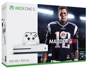 Xbox One S Madden NFL 18 500GB Console Bundle