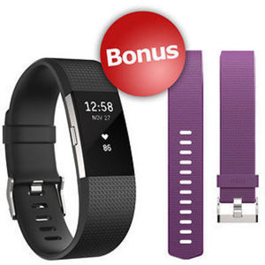 Fitbit Charge 2 with BONUS Band