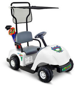 Kid Motorz Jr Pro Golf Cart w/ Golf Set
