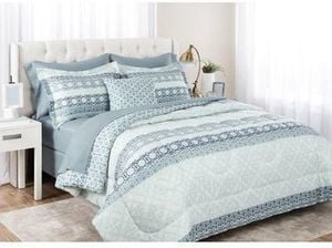 Bed Mix 8-Piece Reversible Comforter Set