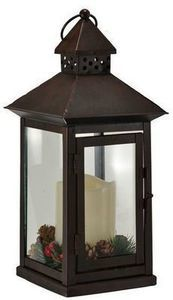 "Trimmerry 13"" Holiday LED Lantern"
