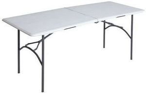 Shopko Lifetime 6' Fold-in-Half Table
