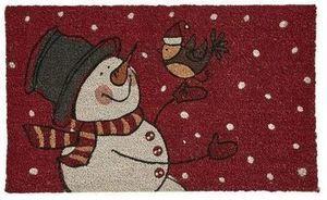 Snowman 18x30 Coir Mat
