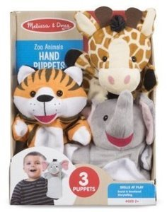 Melissa & Doug Zoo Animal Hand Puppet