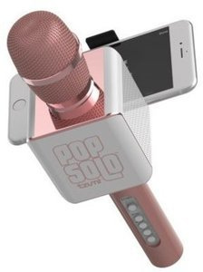 Tzumi Pop Solo Karaoke Machine w/ Bluetooth Microphone