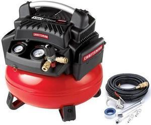 Craftsman 6 Gallon 1.1 HP Oil-Free Pancake Compressor