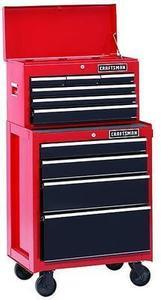 Craftsman 9-Drawer Heavy Duty Ball-Bearing Tool Storage Combo