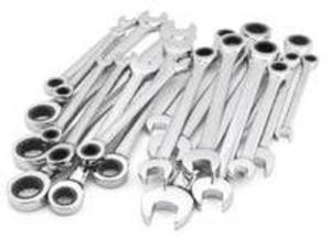 Craftsman 20- piece Ratcheting Wrench Set - Inch & Metric