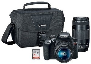 Canon Rebel T6 DSLR Bundle