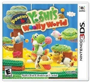 Poochy & Yoshi's Woolly World - (3DS)