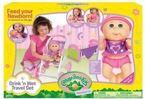 Cabbage Patch Kids Play 'N Travel Set